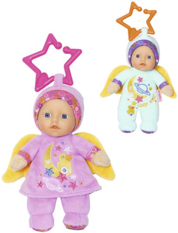 ZAPF CREATION Baby Born panenka andílek 18cm 2 druhy pro miminko