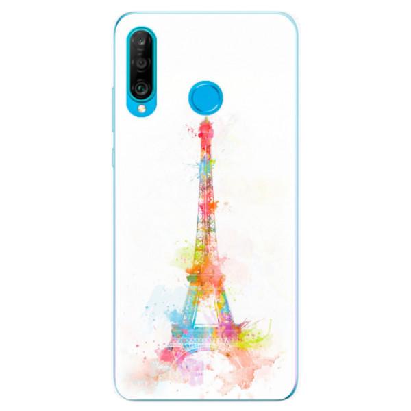 Odolné silikonové pouzdro iSaprio - Eiffel Tower - Huawei P30 Lite