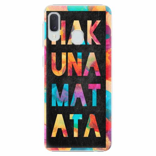 Plastový kryt iSaprio - Hakuna Matata 01 - Samsung Galaxy A20e