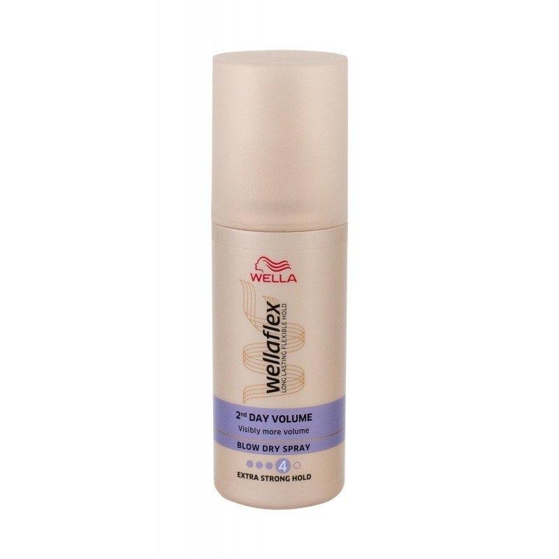 Wellaflex 2nd Day Volume Extra silný sprej pro vysoušení vlasů 150 ml