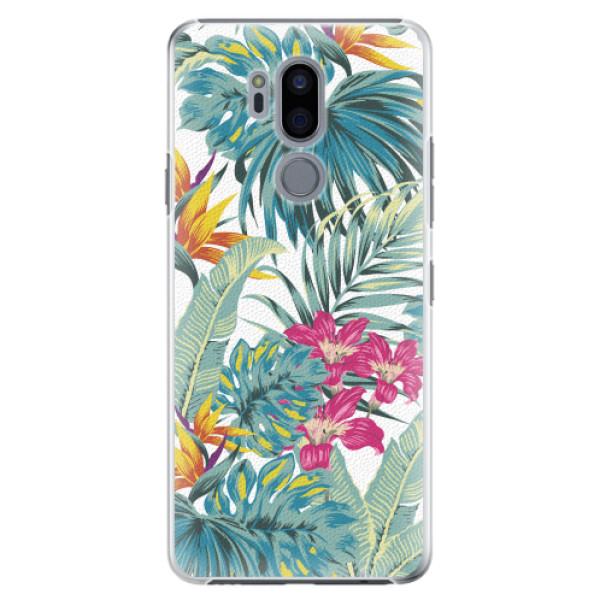Plastové pouzdro iSaprio - Tropical White 03 - LG G7