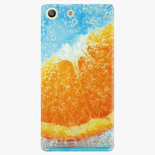 Plastový kryt iSaprio - Orange Water - Sony Xperia M5