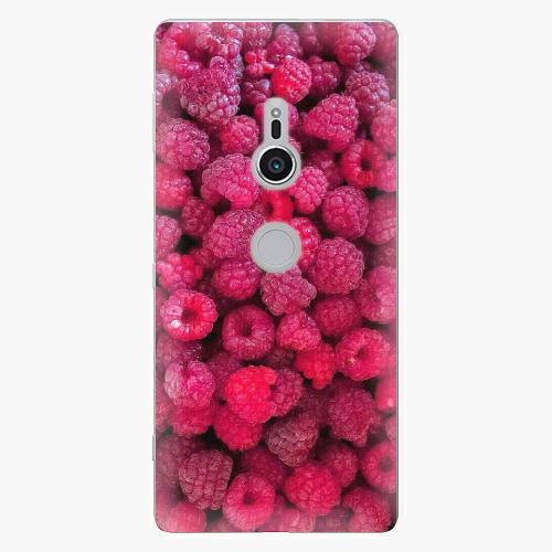 Plastový kryt iSaprio - Raspberry - Sony Xperia XZ2