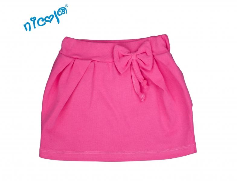 Nicol Kojenecká sukně Lady s mašlí - růžová, vel.