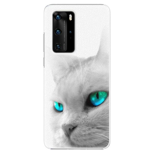 Plastové pouzdro iSaprio - Cats Eyes - Huawei P40 Pro