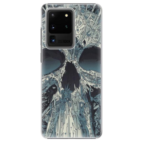 Plastové pouzdro iSaprio - Abstract Skull - Samsung Galaxy S20 Ultra