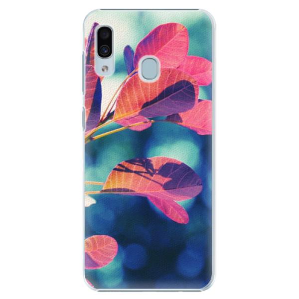 Plastové pouzdro iSaprio - Autumn 01 - Samsung Galaxy A20