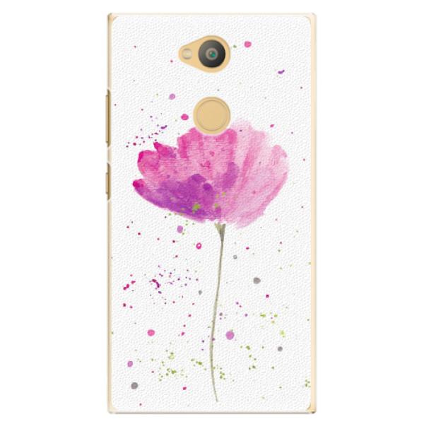 Plastové pouzdro iSaprio - Poppies - Sony Xperia L2