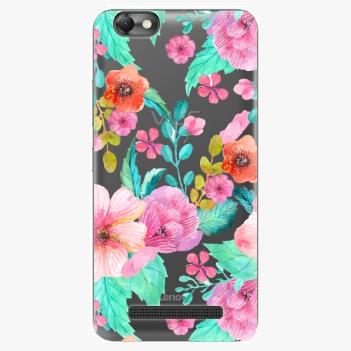 Plastový kryt iSaprio - Flower Pattern 01 - Lenovo Vibe C