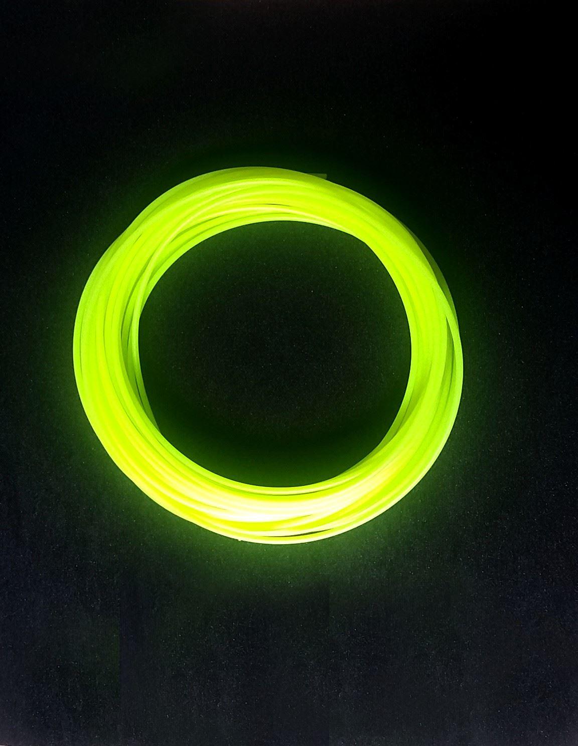 Náplně do 3D pera s LCD displejem - zářivě žlutá