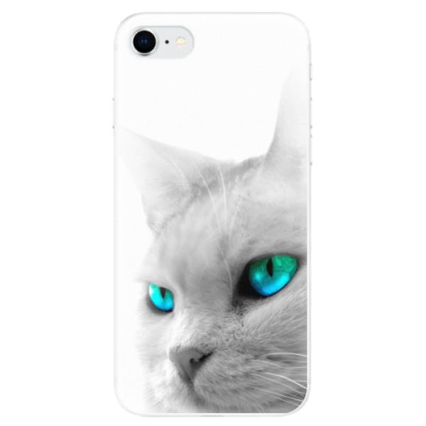 Odolné silikonové pouzdro iSaprio - Cats Eyes - iPhone SE 2020
