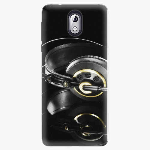 Plastový kryt iSaprio - Headphones 02 - Nokia 3.1