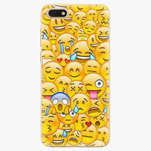 Plastový kryt iSaprio - Emoji - Huawei Honor 7S