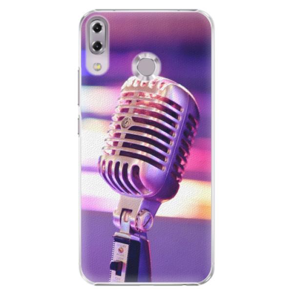 Plastové pouzdro iSaprio - Vintage Microphone - Asus ZenFone 5 ZE620KL