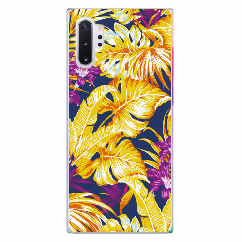 Plastový kryt iSaprio - Tropical Orange 04 - Samsung Galaxy Note 10+