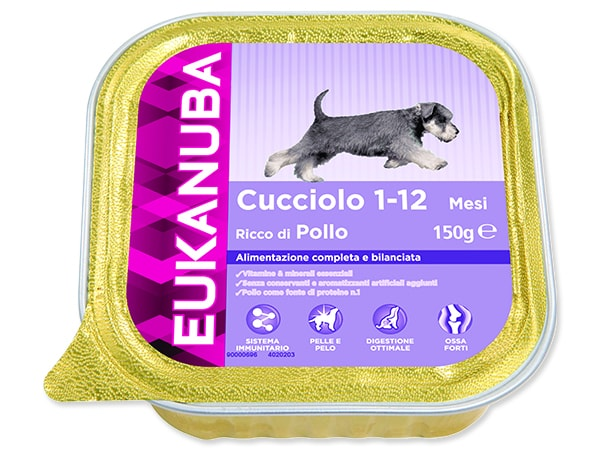Vanička EUKANUBA Puppy Chicken 150g