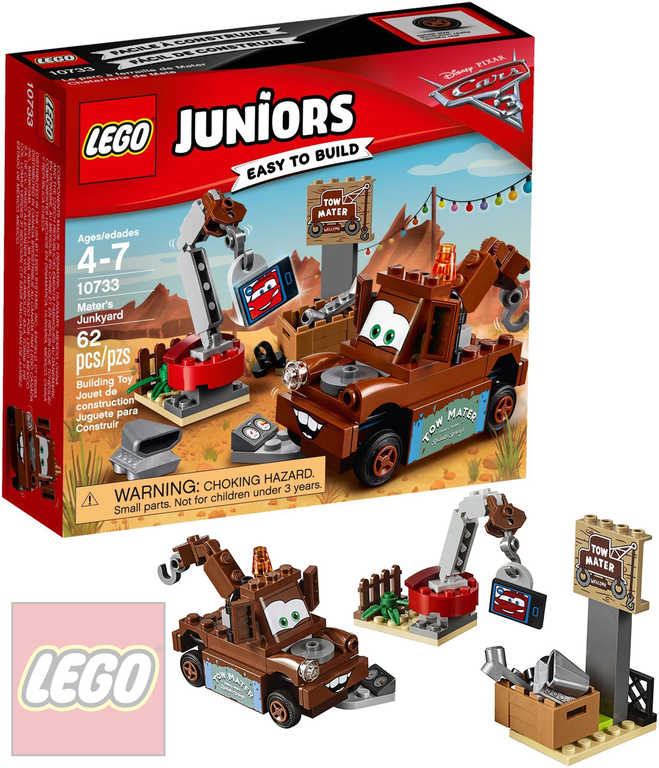 LEGO JUNIORS Burákovo smetiště Cars (Auta) 10733 STAVEBNICE