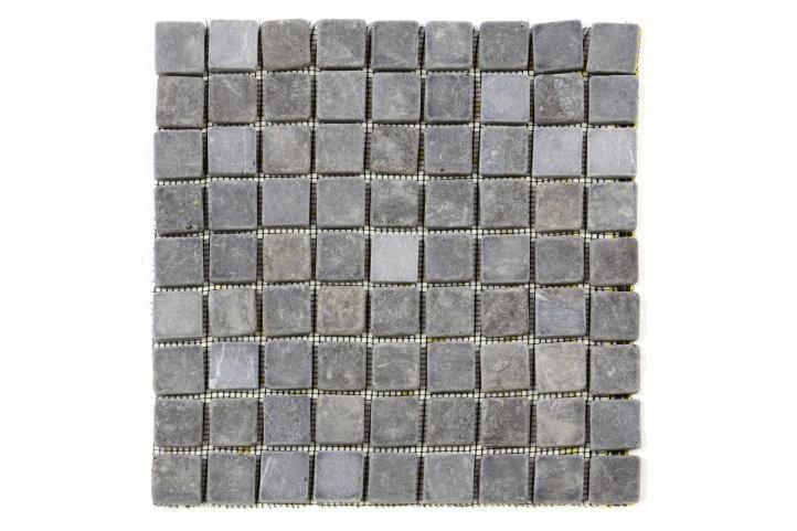 Mramorová mozaika Garth šedá obklady - 1x síťka