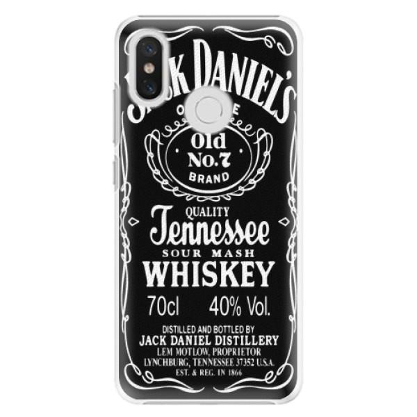 Plastové pouzdro iSaprio - Jack Daniels - Xiaomi Mi 8