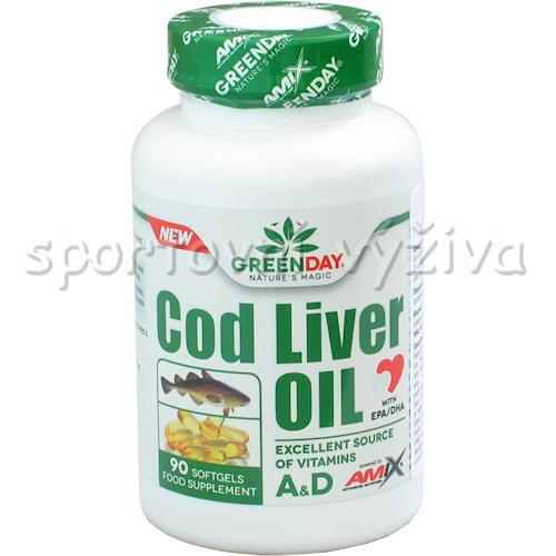 Cod Liver Oil 90 kapslí