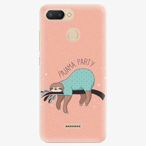 Plastový kryt iSaprio - Pajama Party - Xiaomi Redmi 6