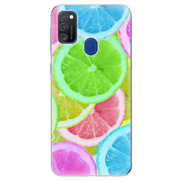 Odolné silikonové pouzdro iSaprio - Lemon 02 - Samsung Galaxy M21