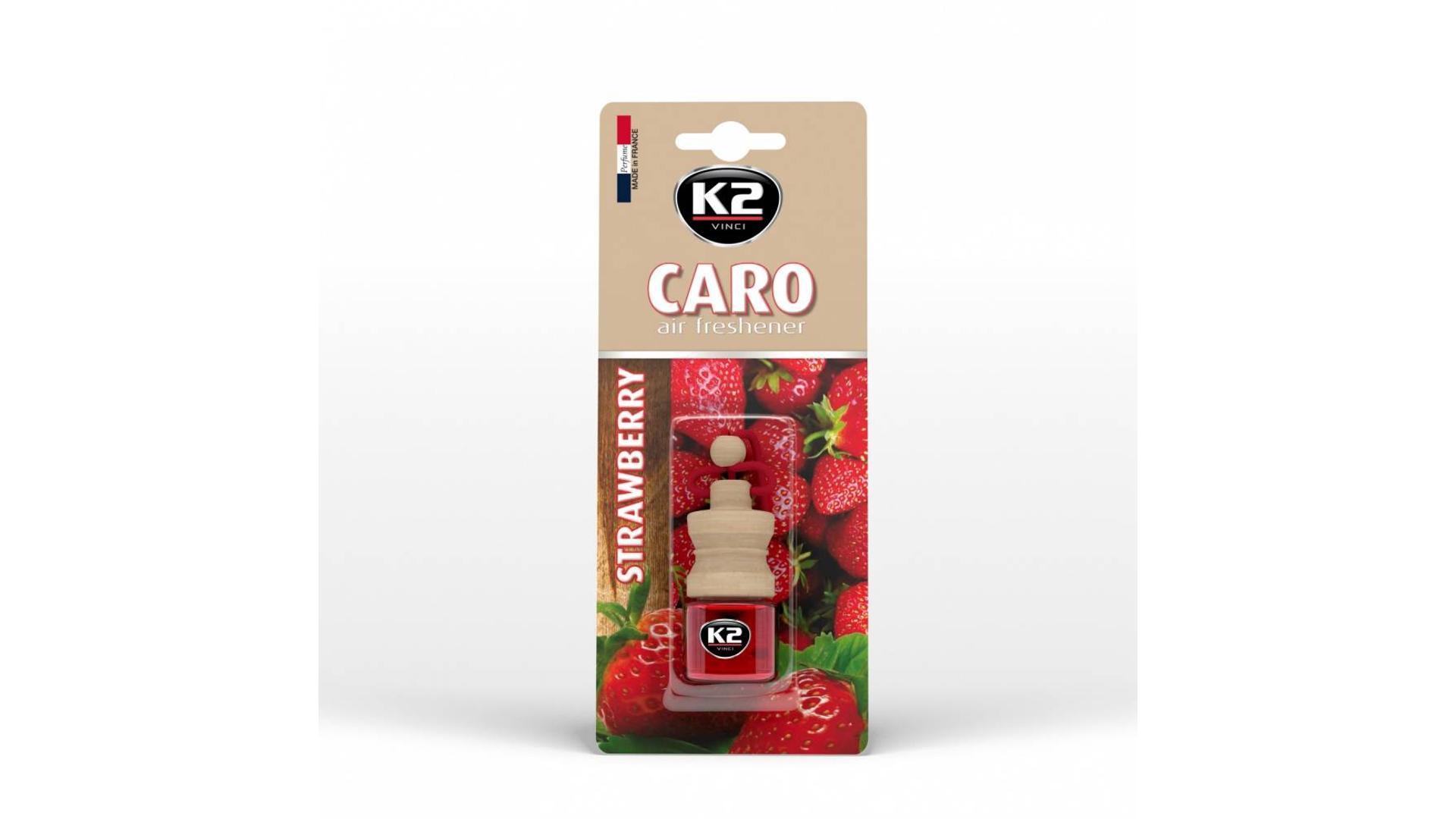 K2 CARO osvěžovač vzduchu - Jahoda 4ml