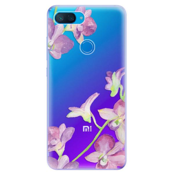Odolné silikonové pouzdro iSaprio - Purple Orchid - Xiaomi Mi 8 Lite
