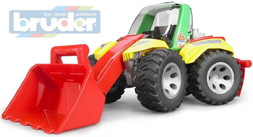 BRUDER 20106 Traktor čelní nakladač Roadmax model 1:16 plast