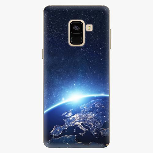Plastový kryt iSaprio - Earth at Night - Samsung Galaxy A8 2018