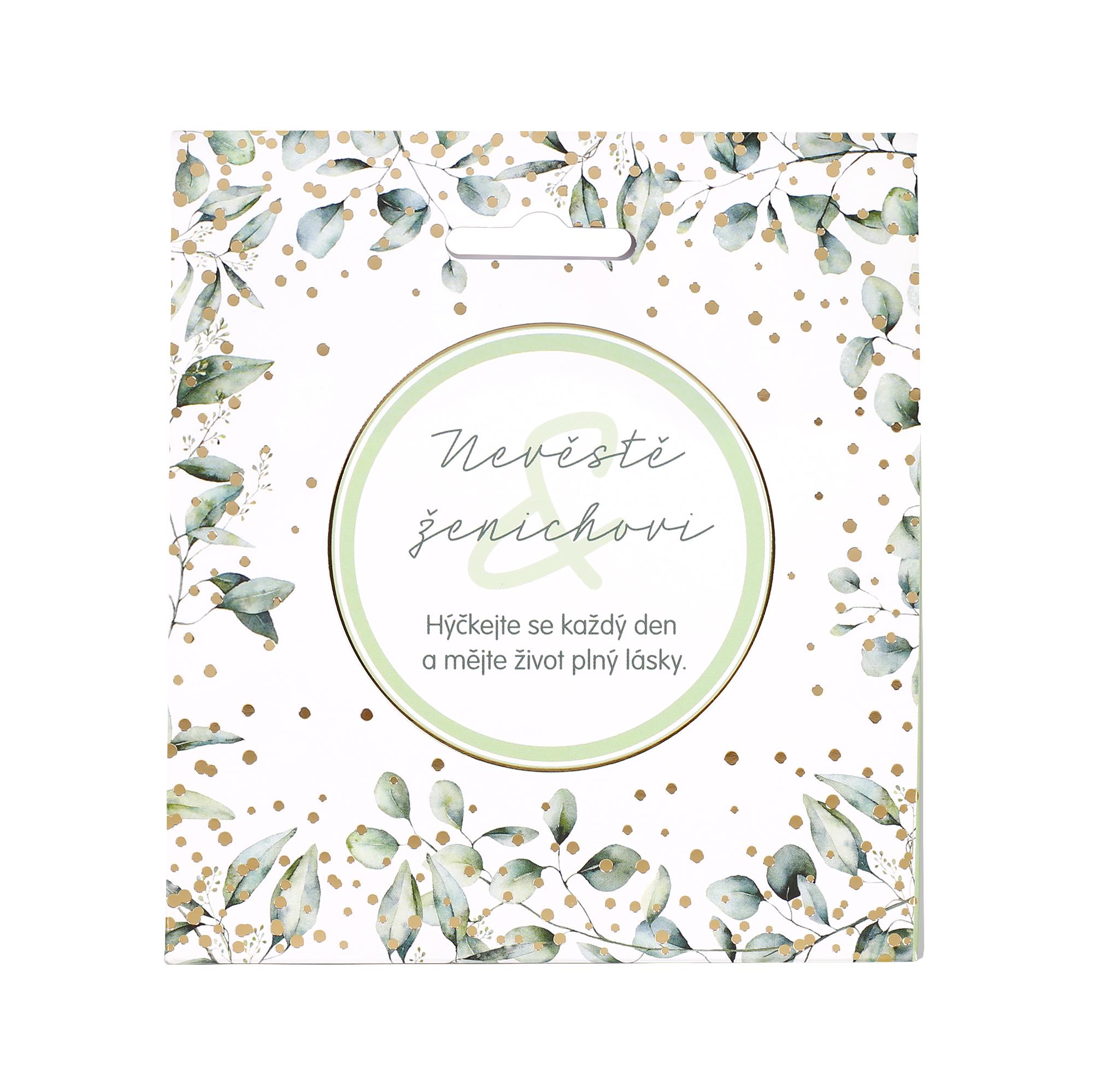 Svatební čaj - Nevěstě a ženichovi