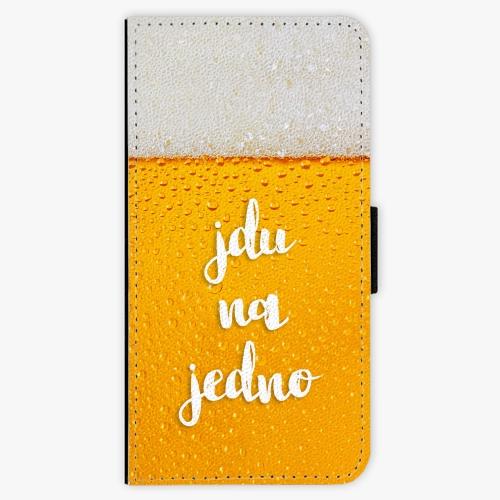 Flipové pouzdro iSaprio - Jdu na jedno - iPhone 8