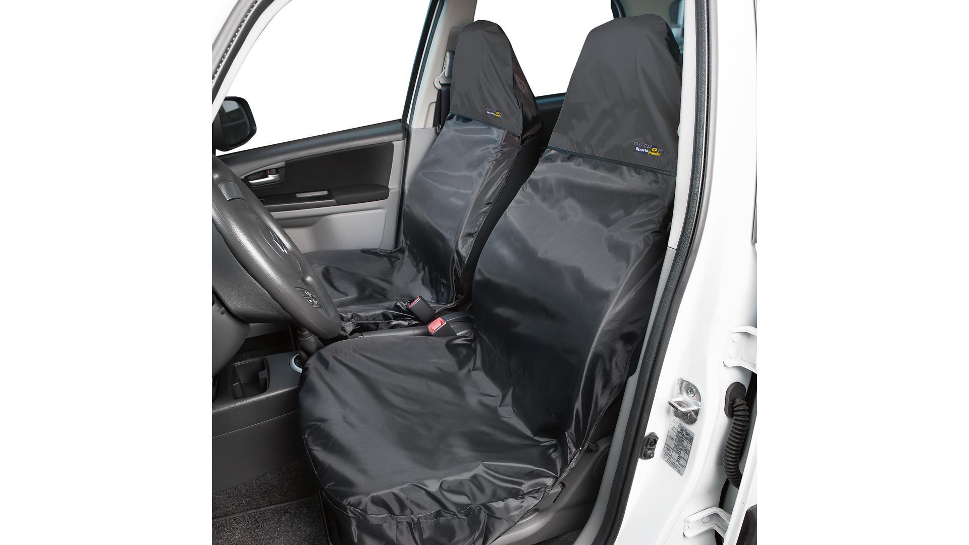 Walser Front Car Seat Cover Outdoor Sports black