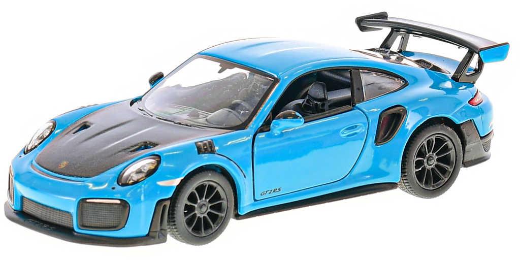 KINSMART Auto model 1:36 Porsche 911 GT2 RS kov PB 13cm 4 barvy