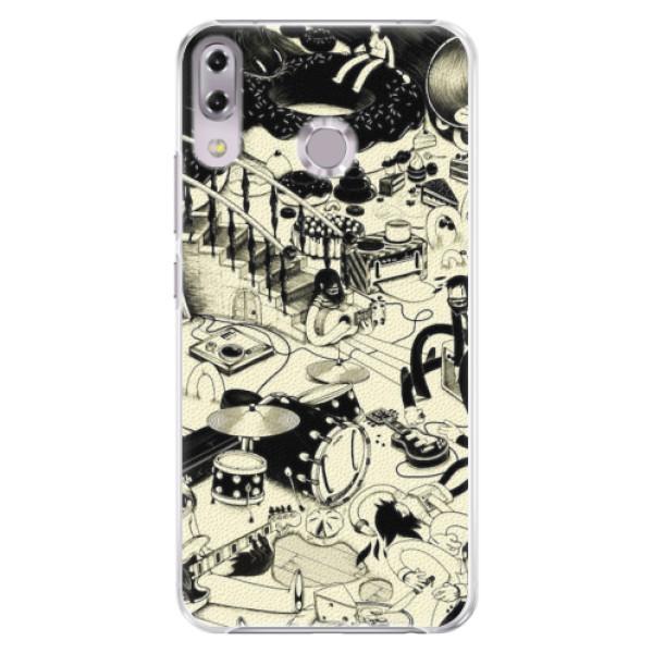 Plastové pouzdro iSaprio - Underground - Asus ZenFone 5Z ZS620KL