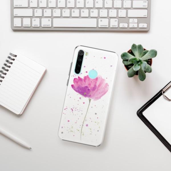Plastové pouzdro iSaprio - Poppies - Xiaomi Redmi Note 8