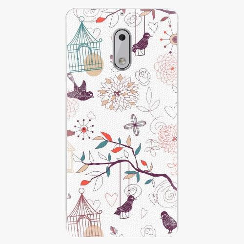 Plastový kryt iSaprio - Birds - Nokia 6