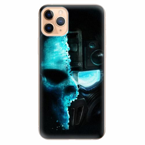 Silikonové pouzdro iSaprio - Roboskull - iPhone 11 Pro Max
