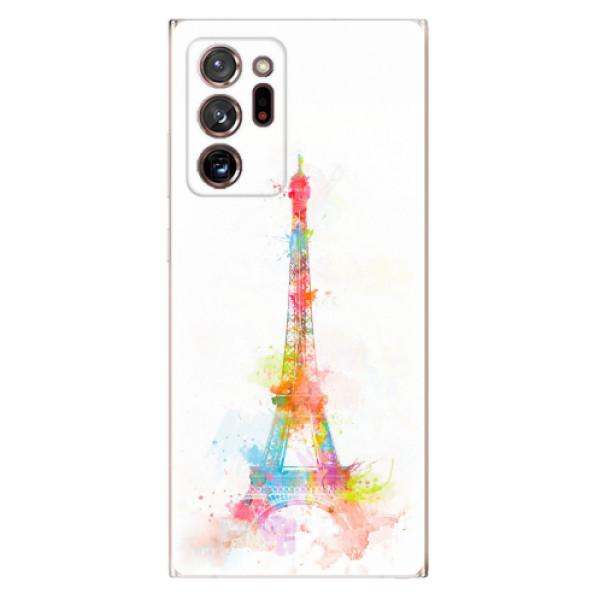 Odolné silikonové pouzdro iSaprio - Eiffel Tower - Samsung Galaxy Note 20 Ultra