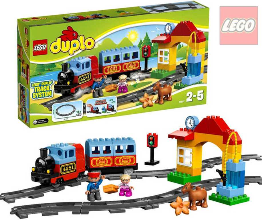 LEGO DUPLO VLAKY Můj první vláček 10507