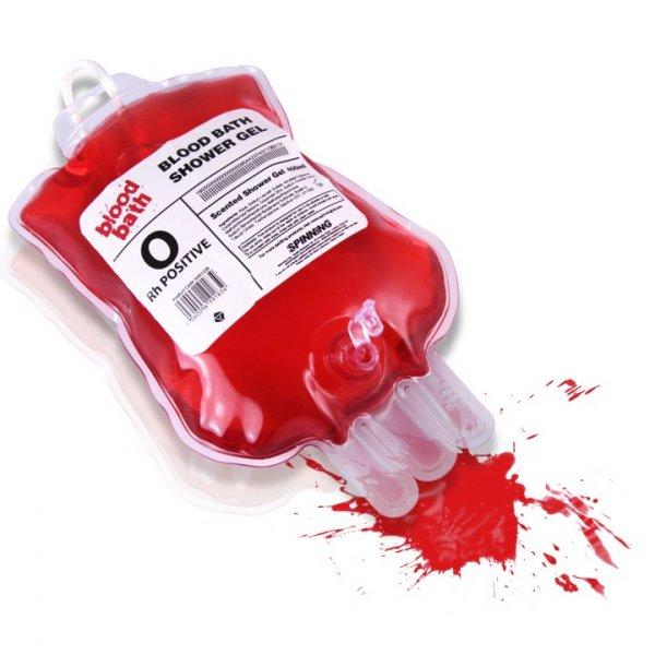 Krvavý sprchový gel