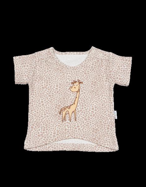 Halenka/tričko kr. rukáv - Žirafka