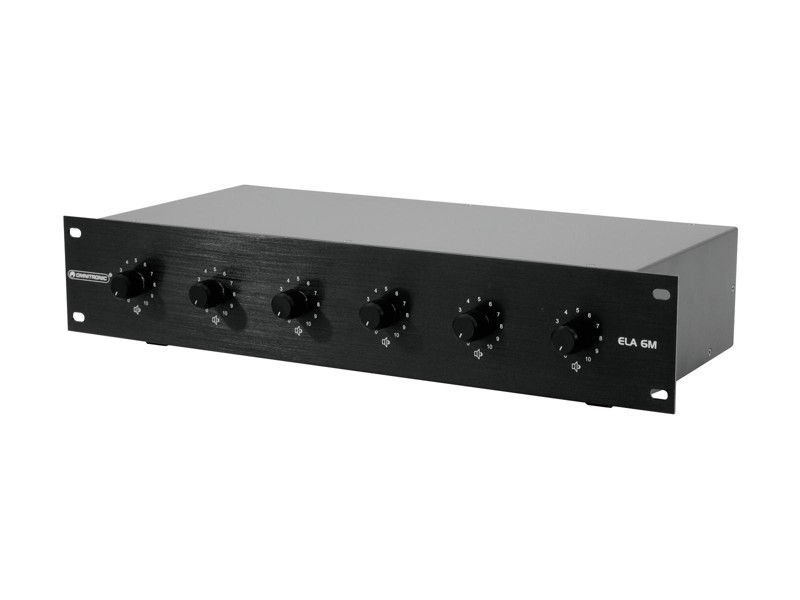 Omnitronic ELA 6M - 20 W černý