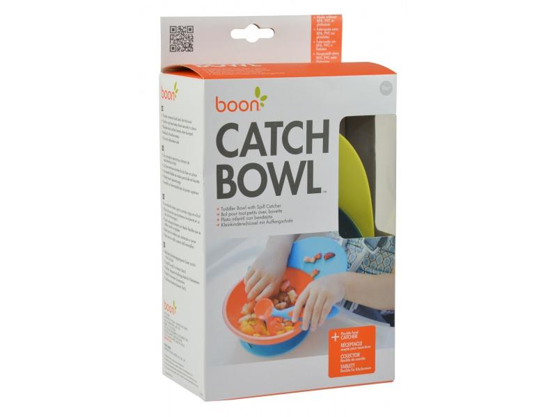 Boon - CATCH BOWL - Miska s přísavkou modro-zelená