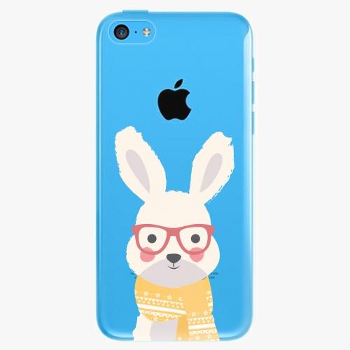 Plastový kryt iSaprio - Smart Rabbit - iPhone 5C