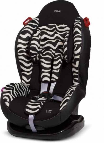 Autosedačka Coto Baby SWING 9-25kg Safari - Zebra Limited edition