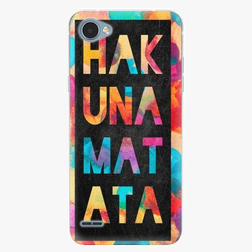 Plastový kryt iSaprio - Hakuna Matata 01 - LG Q6