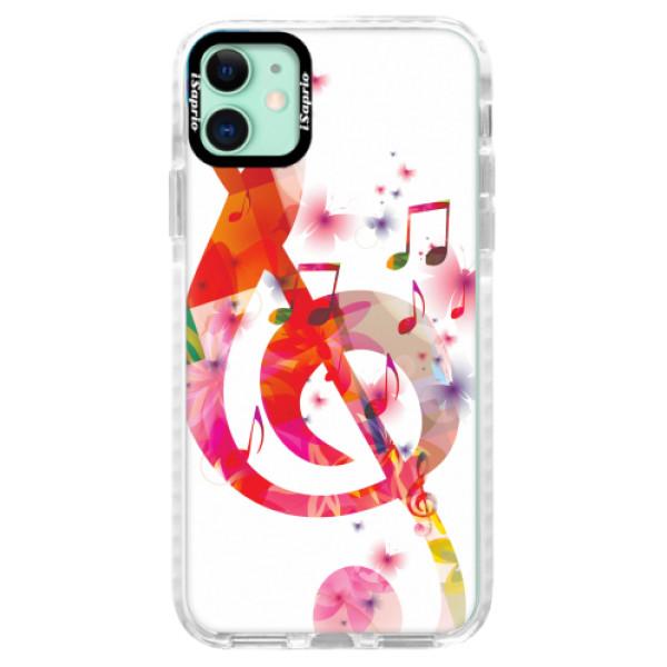 Silikonové pouzdro Bumper iSaprio - Love Music - iPhone 11