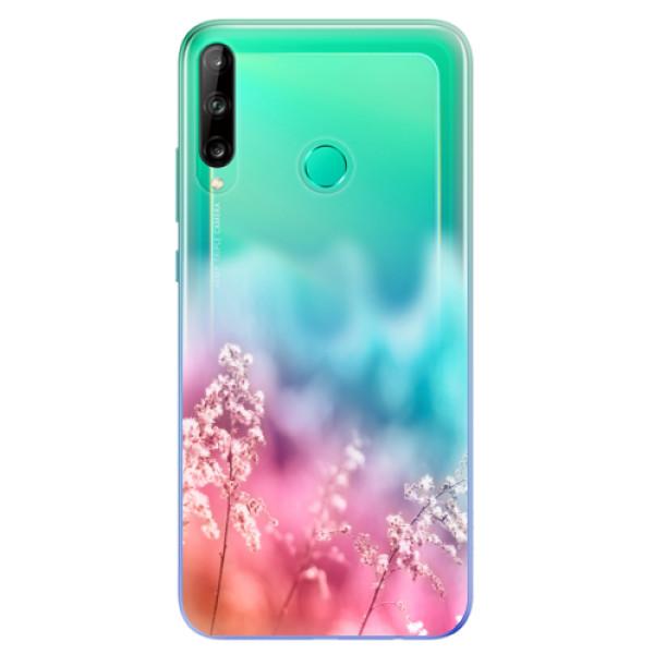 Odolné silikonové pouzdro iSaprio - Rainbow Grass - Huawei P40 Lite E