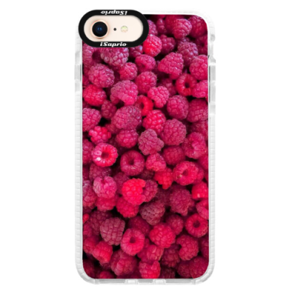 Silikonové pouzdro Bumper iSaprio - Raspberry - iPhone 8